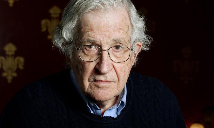 Noam Chomsky with ChrisHedges